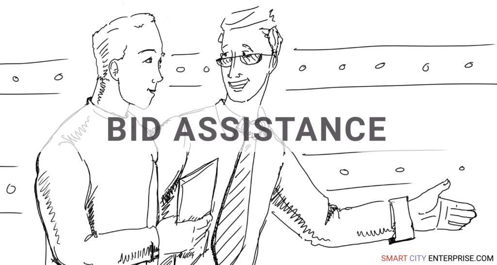 bid assistance audit management b2b smart city b2g business cities tender