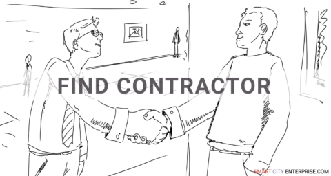 find contractor b2b smart city market research b2g business contacts