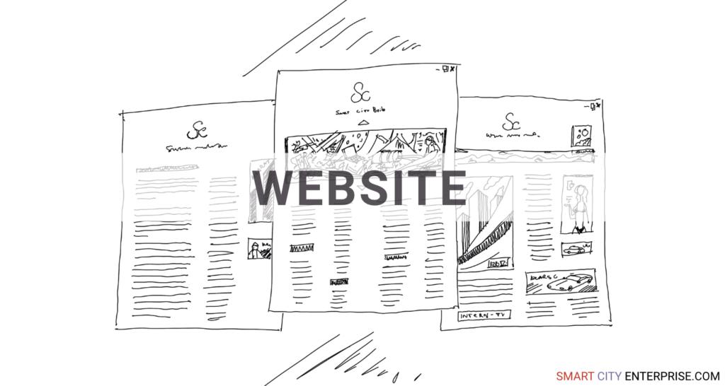 websites content development management customers b2b smart city b2g business cities