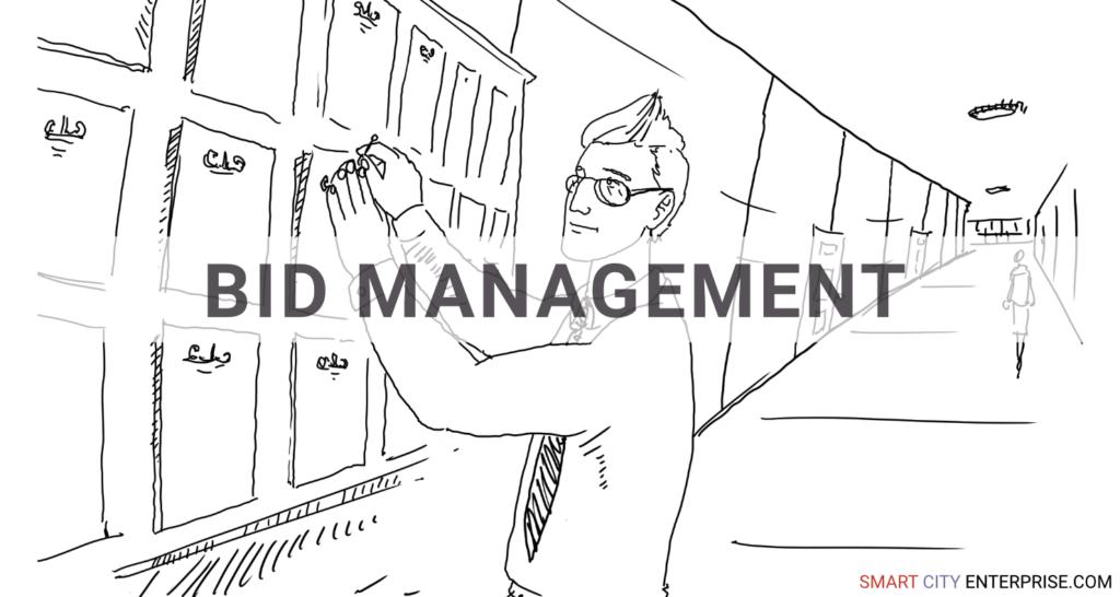 bid management audit management b2b smart city b2g business cities tender