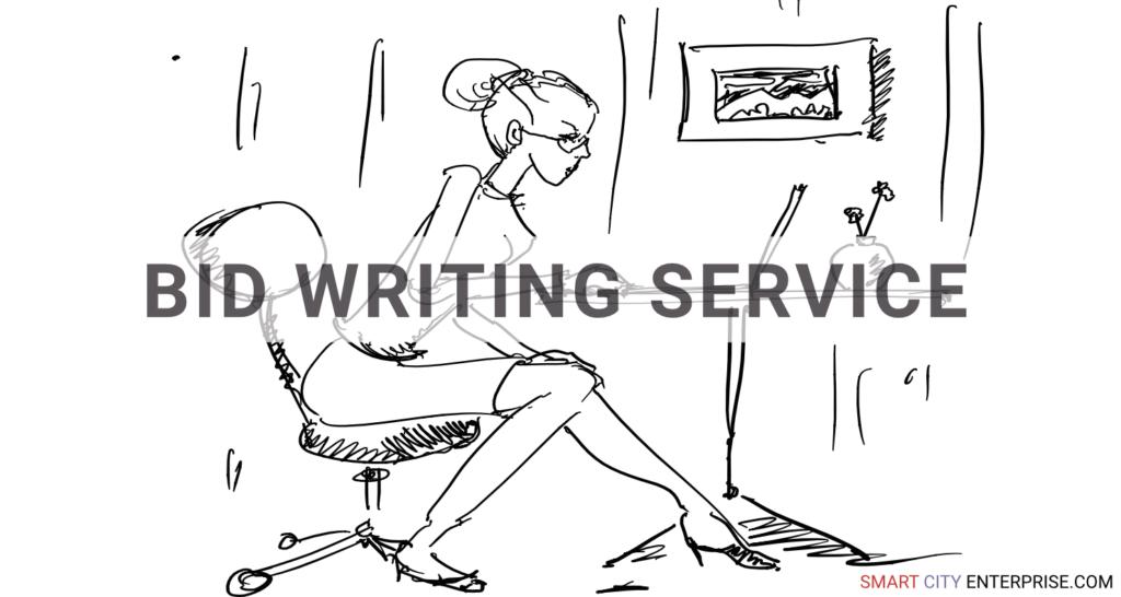 bid writing service audit management b2b smart city b2g business cities