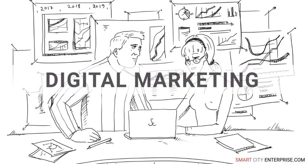 digital marketing development management customers b2b smart city b2g business cities