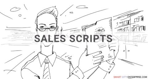 sales scripts development customers b2b smart city market research b2g business contacts cities