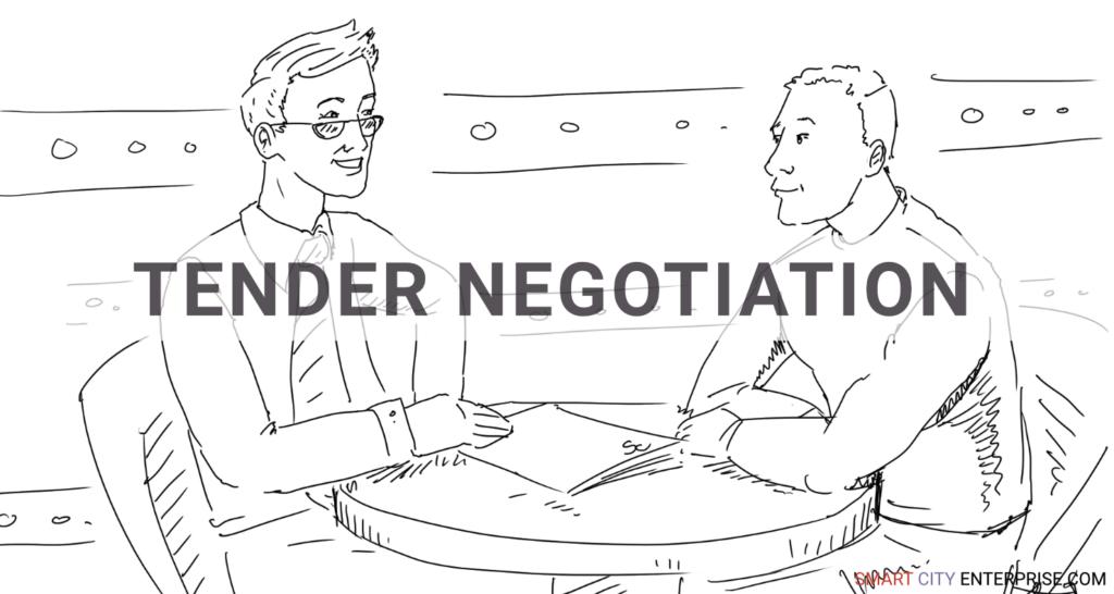 tender negotiation audit management b2b smart city b2g business cities tender